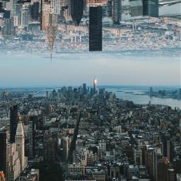 freetoedit nyc newyork newyorkcity skyline