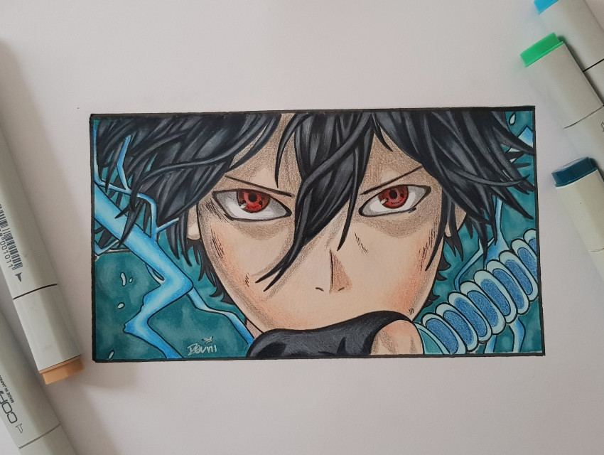 #drawing #copicmarkers #prismacolorpencils #anime #art