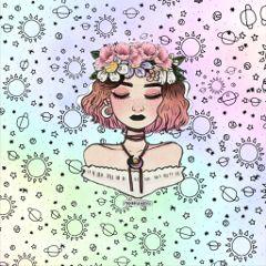 tumblr tumblrgirl flower flowerpowergirl flowercrown