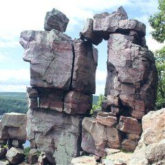 nature rocks cliffs