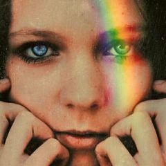 freetoedit rainbow rainbowlight eyes rainbow🌈