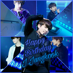 jungkook bts myedit happybirthday blue