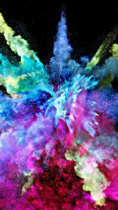freetoedit explosion color colorsplash beautiful