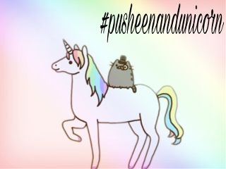 pusheenandunicorn freetoedit