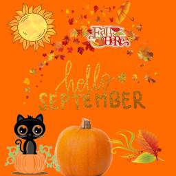 freetoedit helloseptember pumpkins september2017