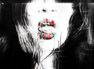 freetoedit seductive lips mouth girl