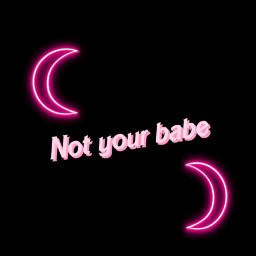 freetoedit neon neonlight babe pink
