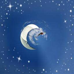 umbrellaremix freetoedit distort stars anja