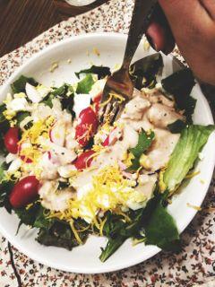 salad healthy healthymeal yummy foodie freetoedit