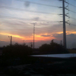 freetoedit myphotograpy sunset sunlight rooftopview