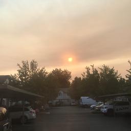pa forestfire smoke