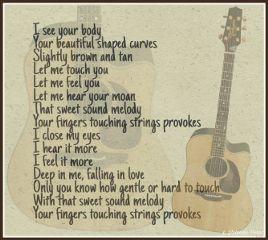 poetry poem writing guitar