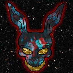 donnidarko vaporwave vaporart anime art