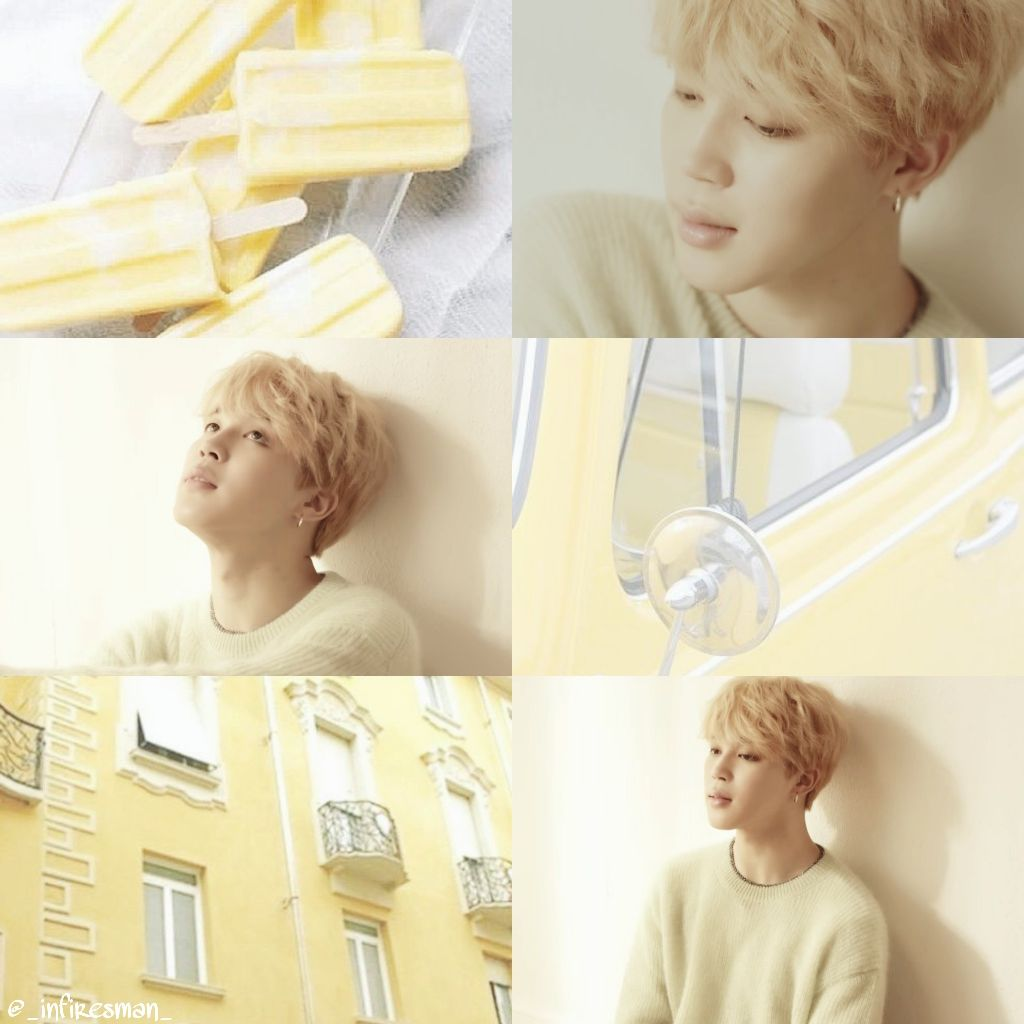 Jimin Btsjimin Bts Loveyourself Her Serendipity Yellow