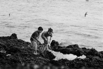 photography blackandwhite summerswag summer children