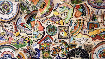 freetoedit background colorful mosaic mexico