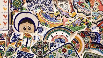 freetoedit mosaic colorful dishes broken