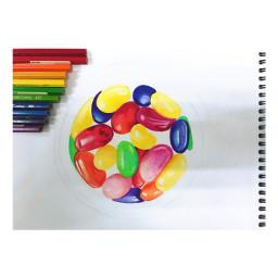 candy sweet rainbow jellybeans jellybelly freetoedit
