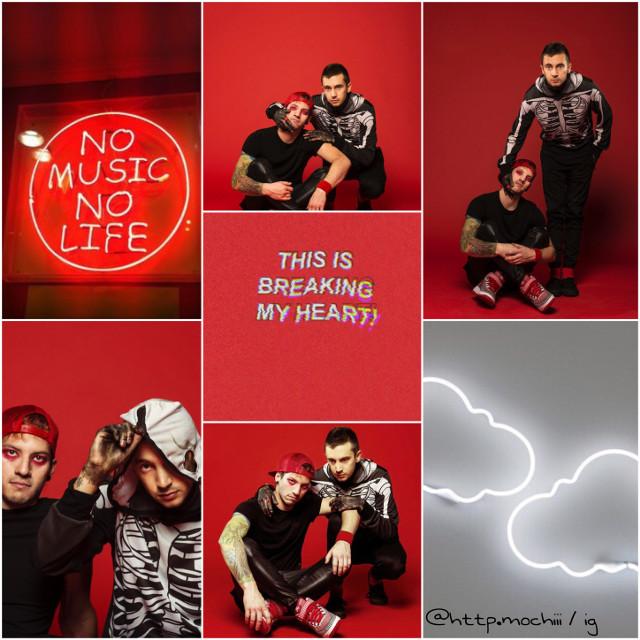 Any TØP fans? #Tøp #twenty #one #pilots #twentyonepilots #red #grey #rojo #gris #tumblr #aesthetic #music #alternative #música #myedit #givefullcred #margo