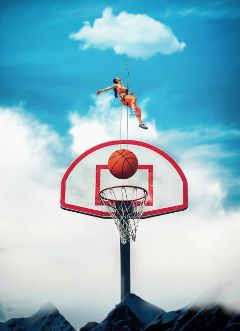 clouds women basketball ball wapamongtheclouds