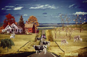 dailyremix countryside twlighteffect retroeffect freetoedit