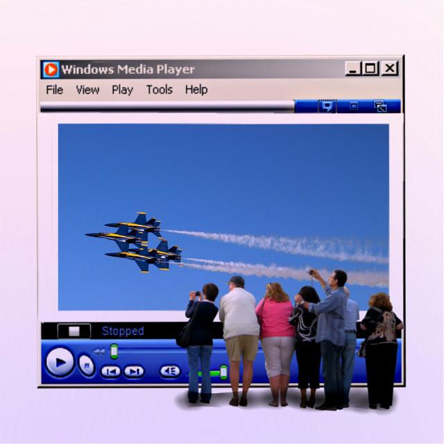 #screen #mediaplayer #windows95 #airplane