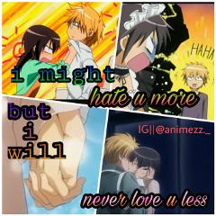 love animeedits kaichouwamaidsama anime