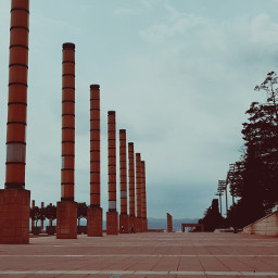 barcelona tvtower tourist