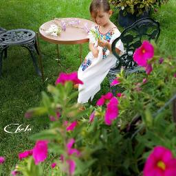 baby cute grandchild playtime backyard