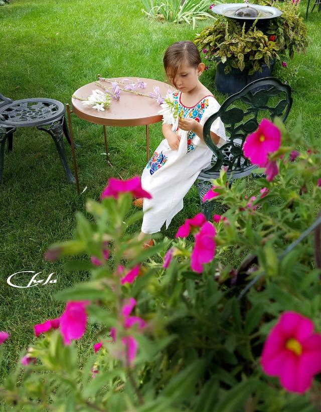 #baby #cute #grandchild #playtime #backyard