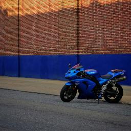 freetoedit ninja kawasaki blue motocycle