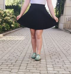cute black kawaii skirt