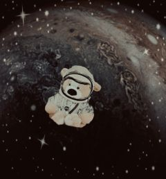 freetoedit teddybear jupiter stars nasa