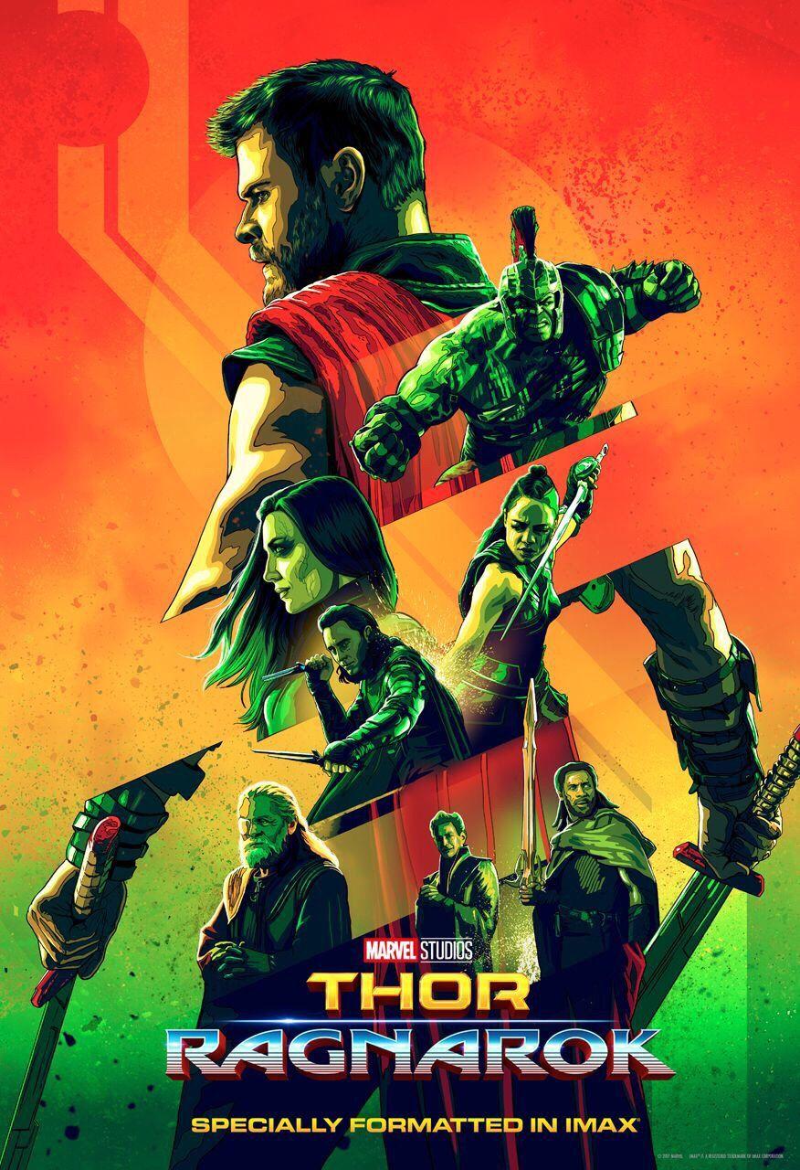 New Imax Poster For Thor Ragnarok Thorragnarok Is Out