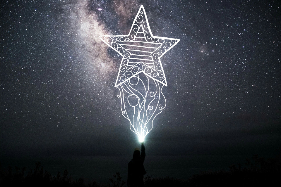 #light #star #space #draw #white #human #stars 🌌⭐😁