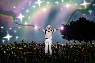 rainbow lensflare stickers freetoedit
