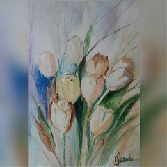 freetoedit handmade watercolor flowers