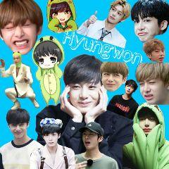 freetoedit hyungwon cute