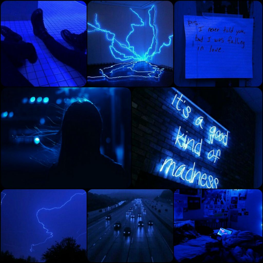 Blue Electricblue Electricity Aesthetic Blueaesthetic Amino Oc