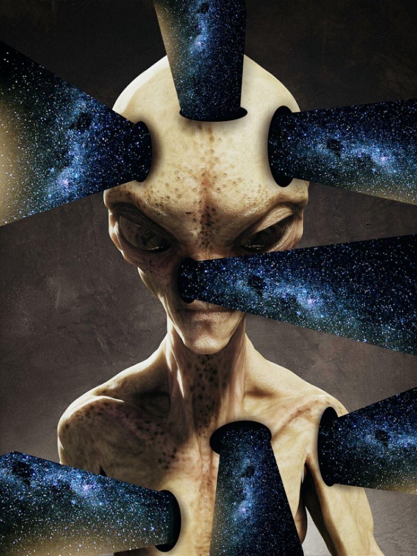 Instagram➡vio_emy    #alien #edit #drawing #myedit
