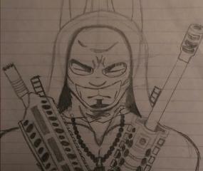 sketch bunny guns myart