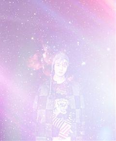 freetoedit bts taehyung bangtanboys galaxy