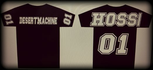 desertmachine band merchandise hossi shirt