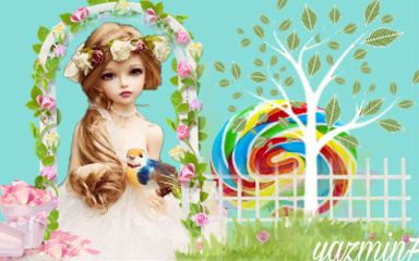 freetoedit doll garden tree lollipop