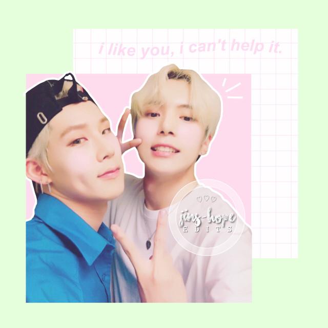 ahh i love them :3 requests open!  #monstax #monstaxjooheon #monstaxminhyuk #leejooheon #leeminhyuk #joohyuk #honeypuppy #kpop #pastel #edit   lyrics from day6's what can i do