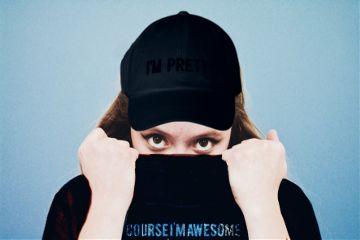 freetoedit awesome black cap jacket
