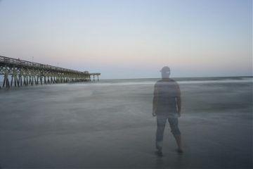 transparent longexposure me beach
