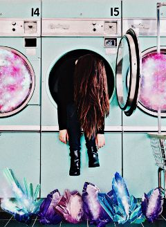 freetoedit cosmos laundry space crystal