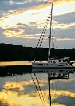 freetoedit nature boat goldenhour reflection