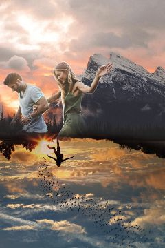 madewithpicsart doubleexposure couple picsart surreal freetoedit